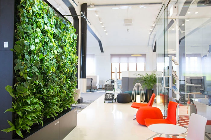 Architects designers for Office design wellbeing