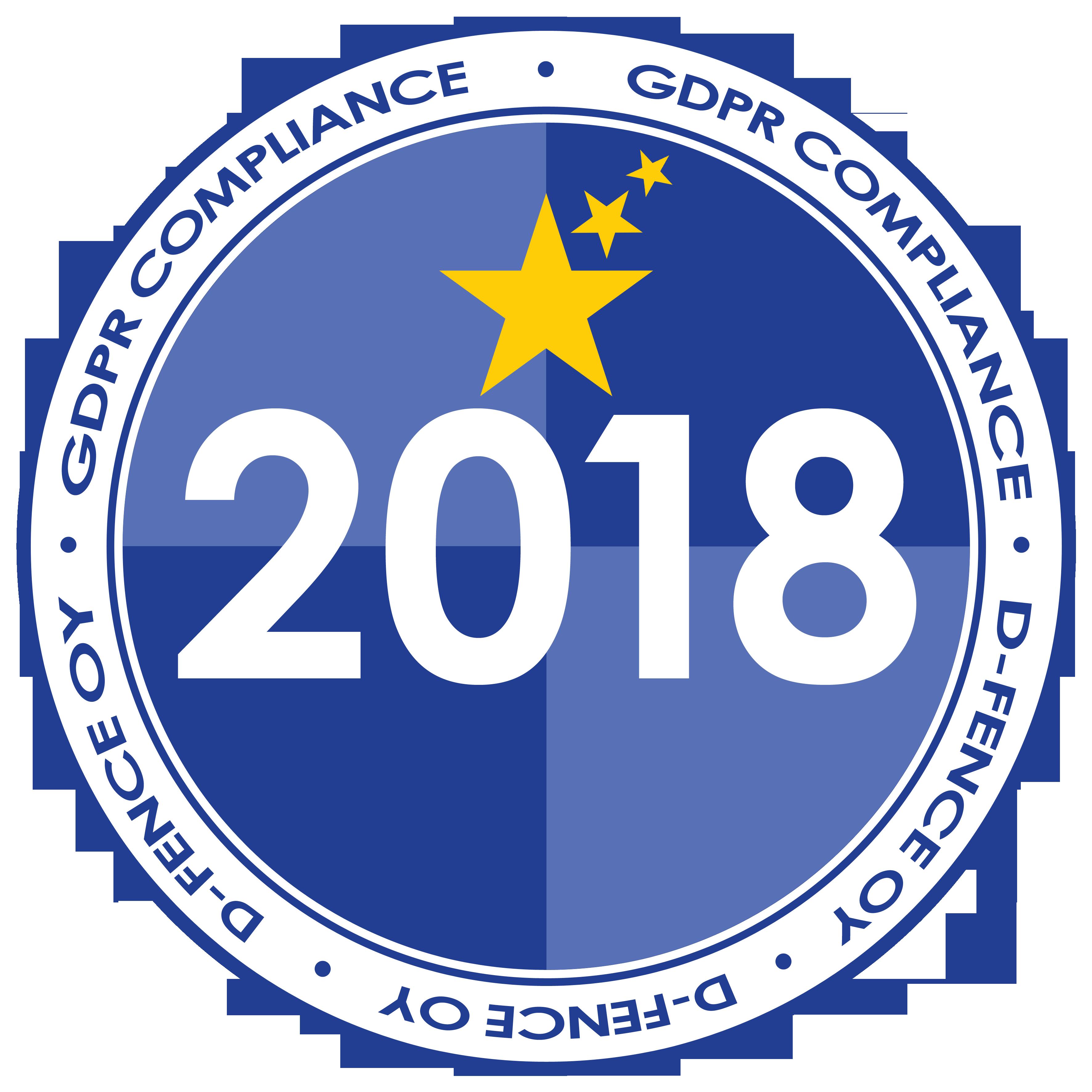 GDPR Compliance D-Fence 2018