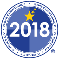 GDPR Compliance D-Fence 2018