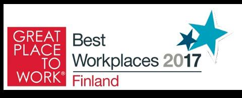 Best Workplaces 2017 Finland