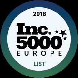 2018 Inc. 5000 Europe list