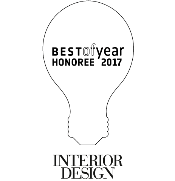 Interior Design Best of Year Honoree 2017