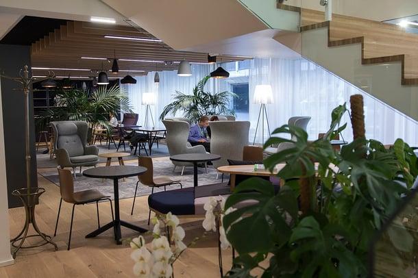 SEB:n uusi toimisto sijaitsee Helsingin ytimessä.