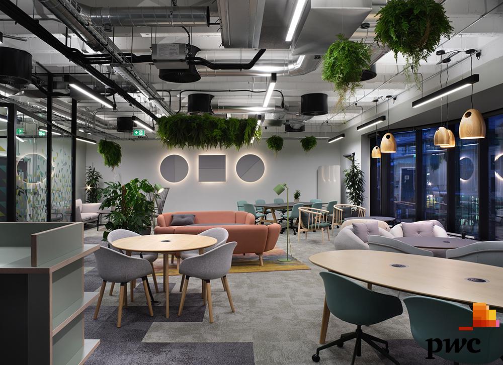 PwC Biophilic Office Design