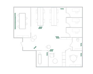 Office layout after covid-19