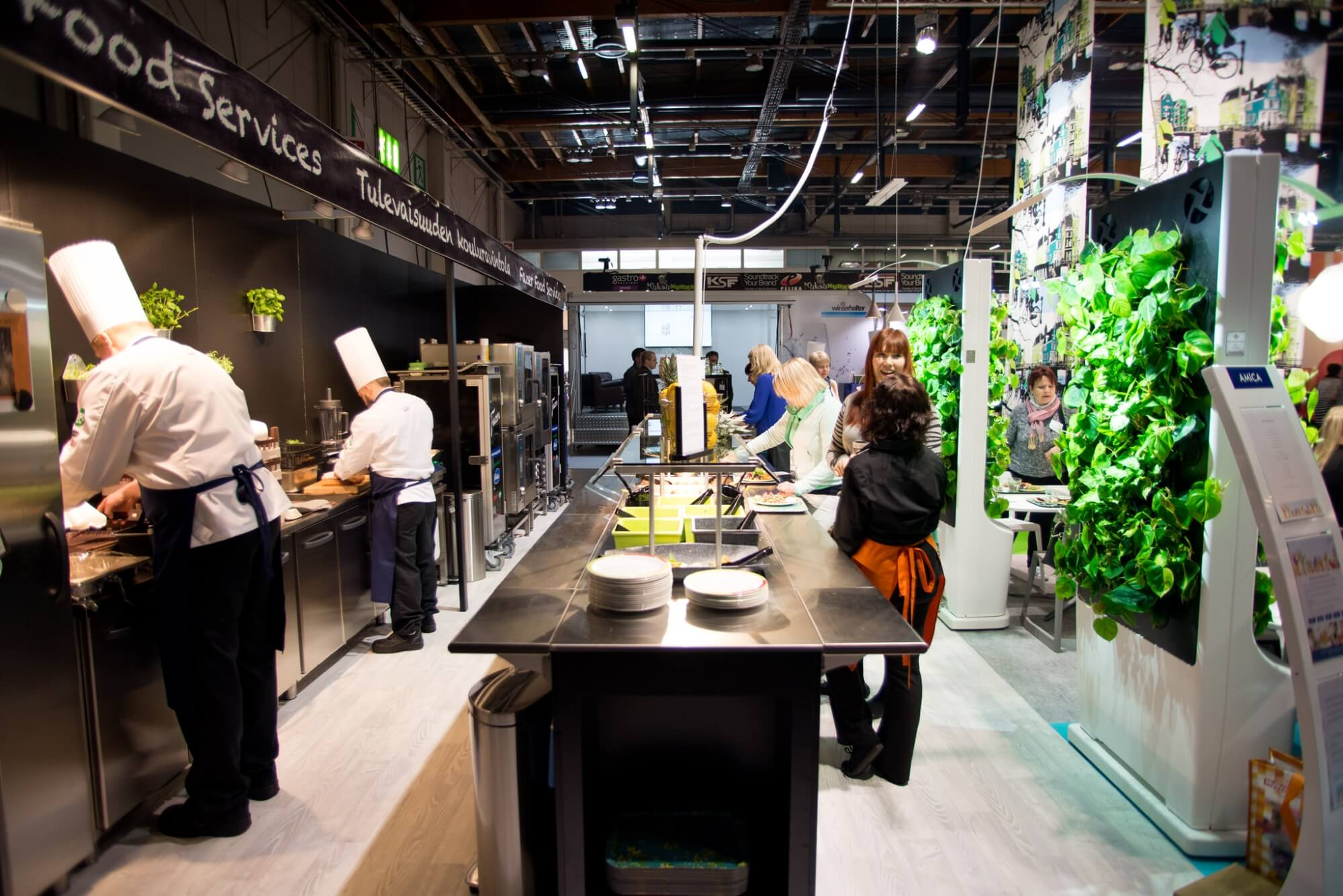 Fresh air, colorful prints and exercise balls – Fazer Food Services on the future of school ...