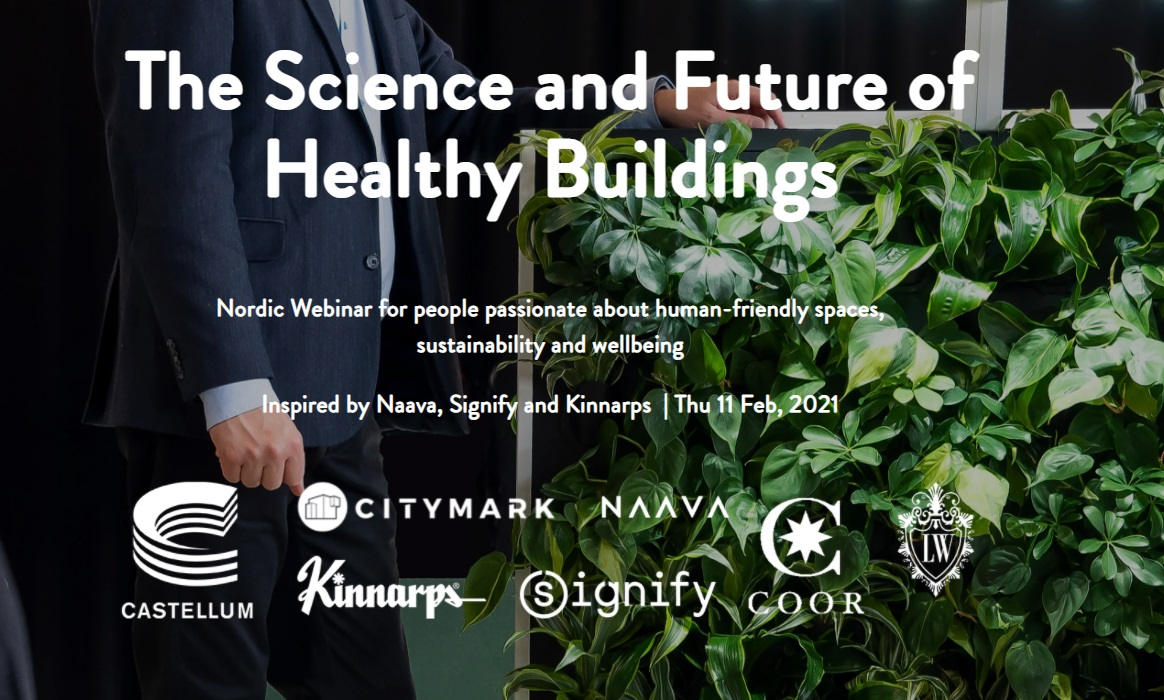 The science and future of healthy buildings